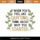 Feel Like Quitting SVG Cut File