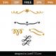 Festive Flourish SVG Cut File