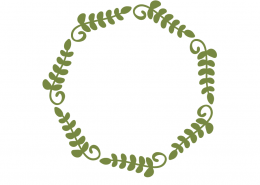 Geometric Wreath SVG Cut File