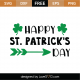 Happy St Patrick's Day SVG Cut File