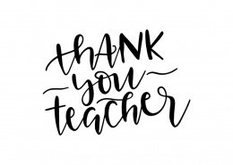Thank You Teacher SVG Cut File