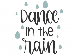 Dance In The Rain SVG Cut File
