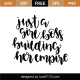 Girl Boss Building Her Empire SVG Cut File