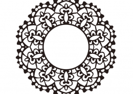 Mandala Monogram SVG Cut File