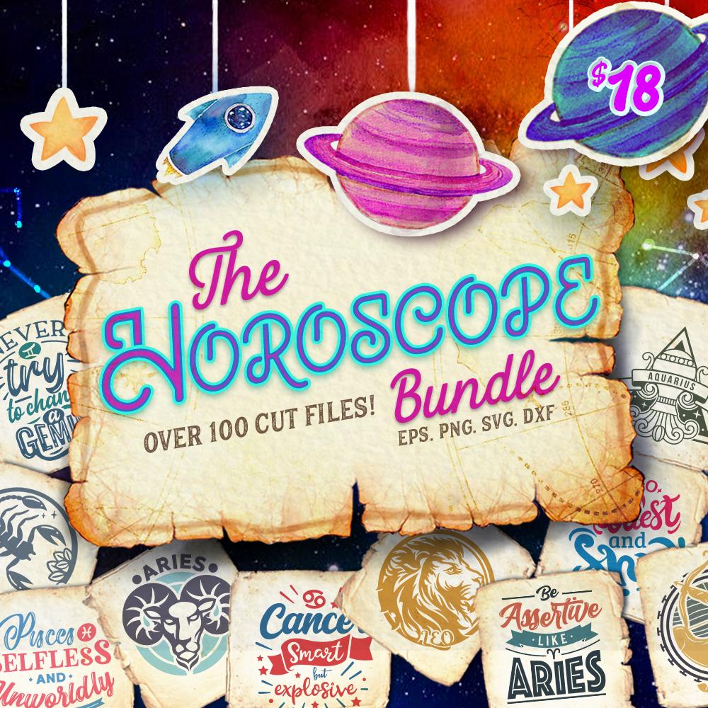 The Horoscope SVG Bundle