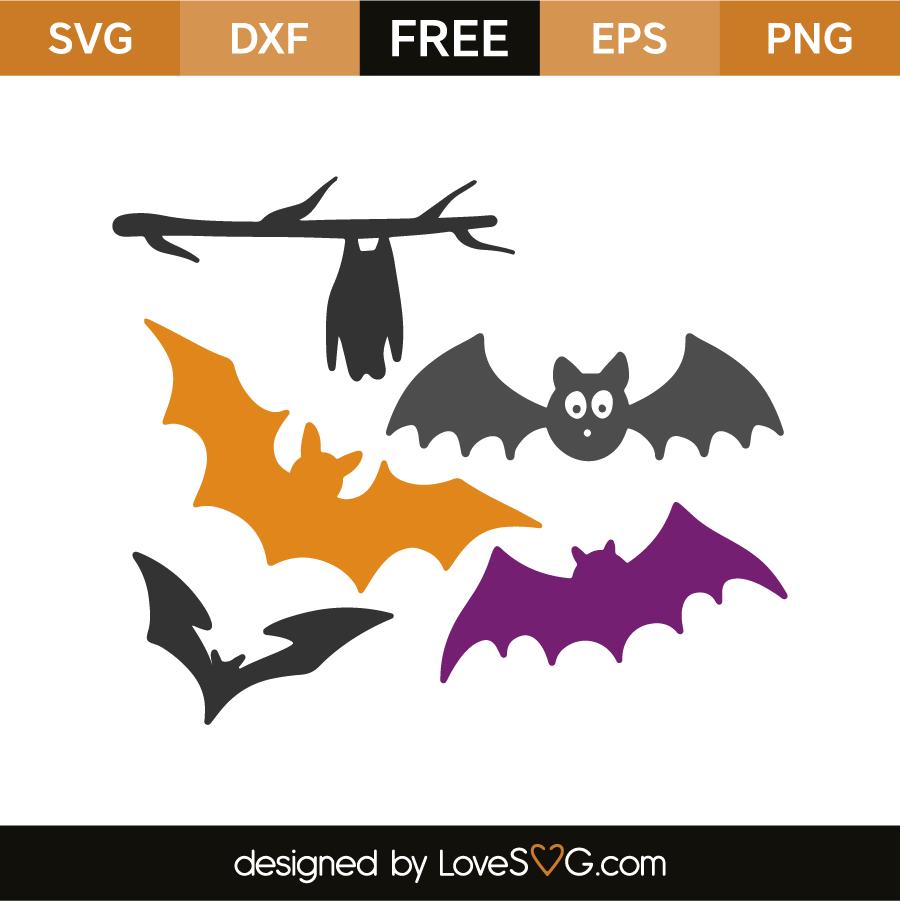Bats Lovesvg Com