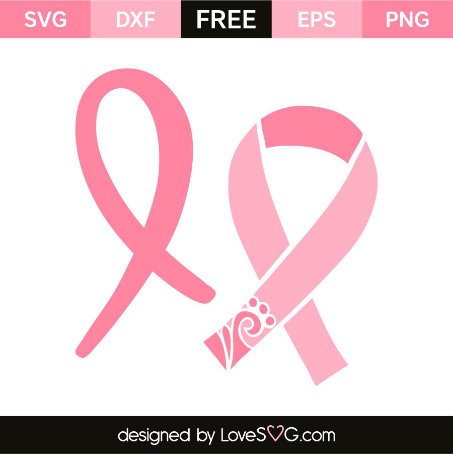 Cancer Ribbons Lovesvg Com