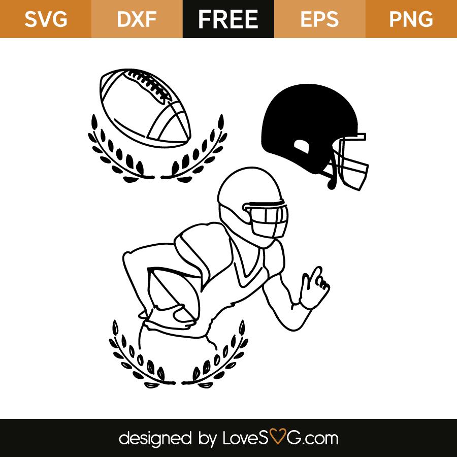 Football Elements Lovesvg Com