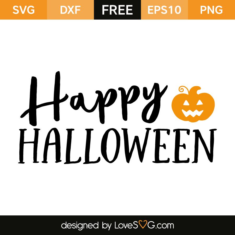 Happy Halloween Lovesvg Com