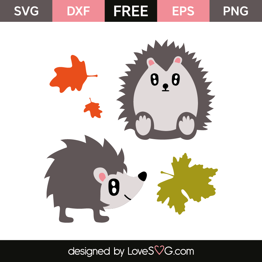 Hedgehog Designs 4284 Lovesvg Com