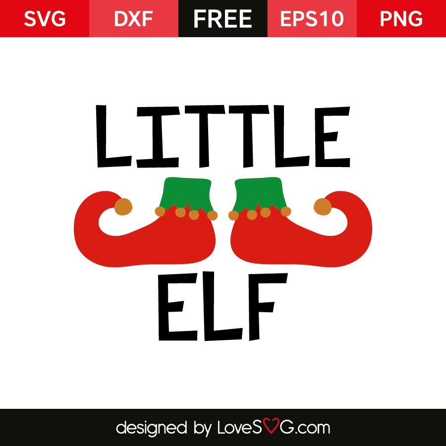 Little Elf Lovesvg Com