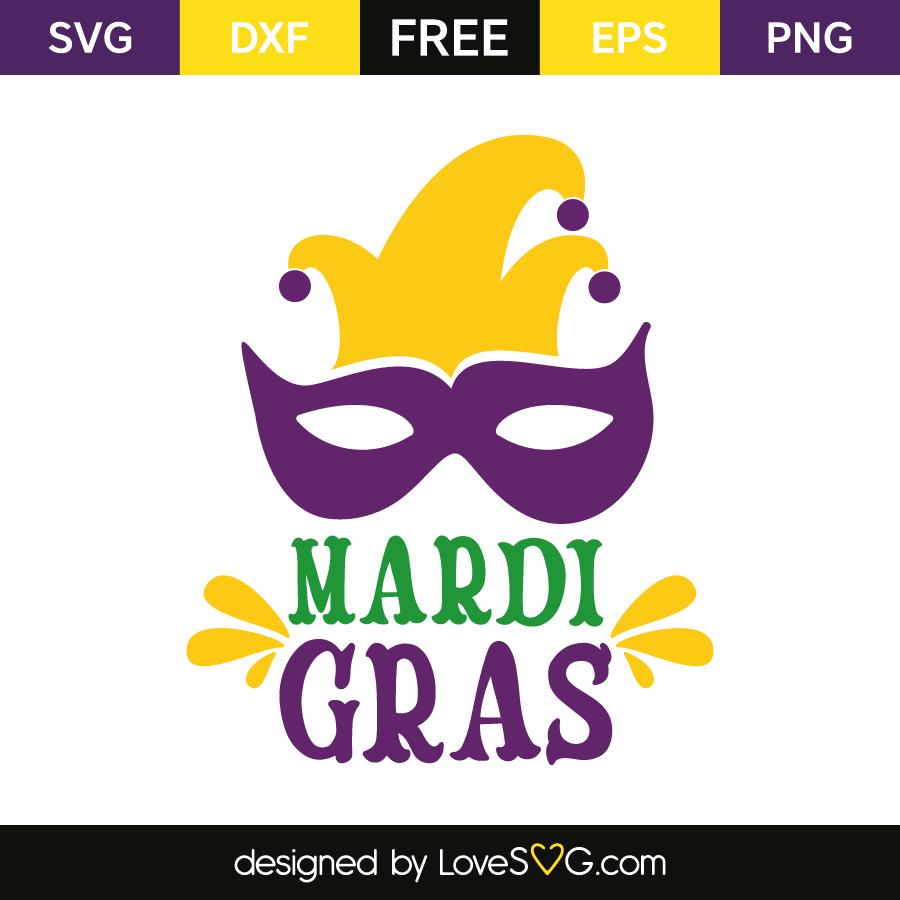 Download Mardi Gras Lovesvg Com