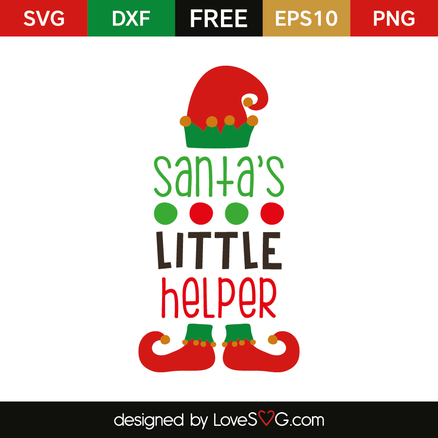 Santa S Little Helper Lovesvg Com