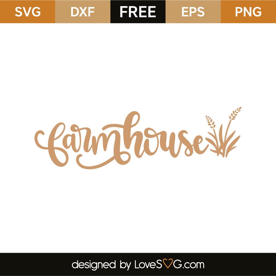 Farmhouse Lovesvg Com