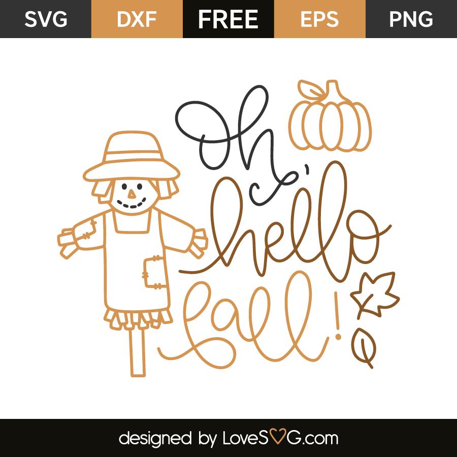 Oh Hello Fall Lovesvg Com