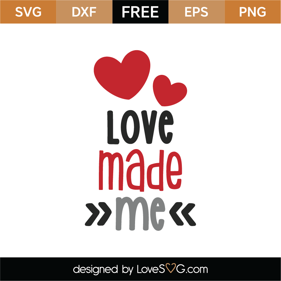 1752+ Love Made Me Svg Best Quality File