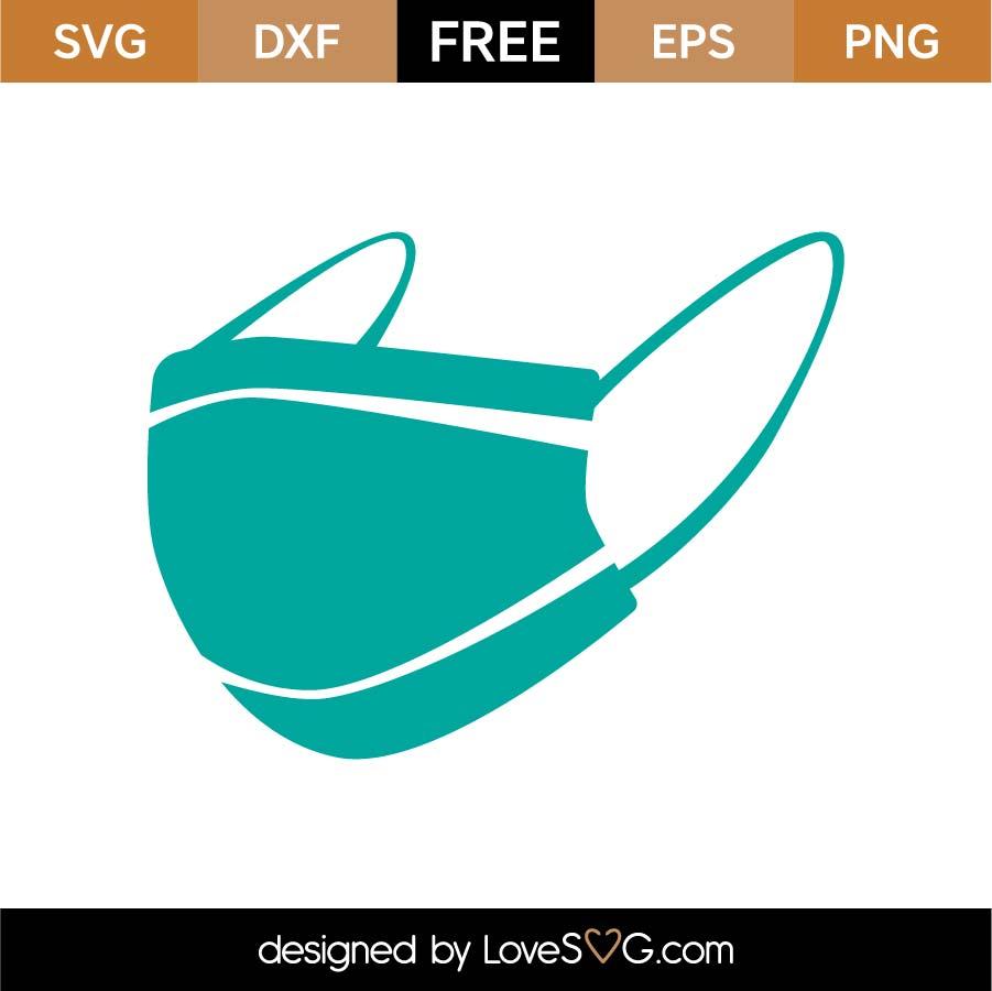 Free Mask Svg Cut File Lovesvg Com