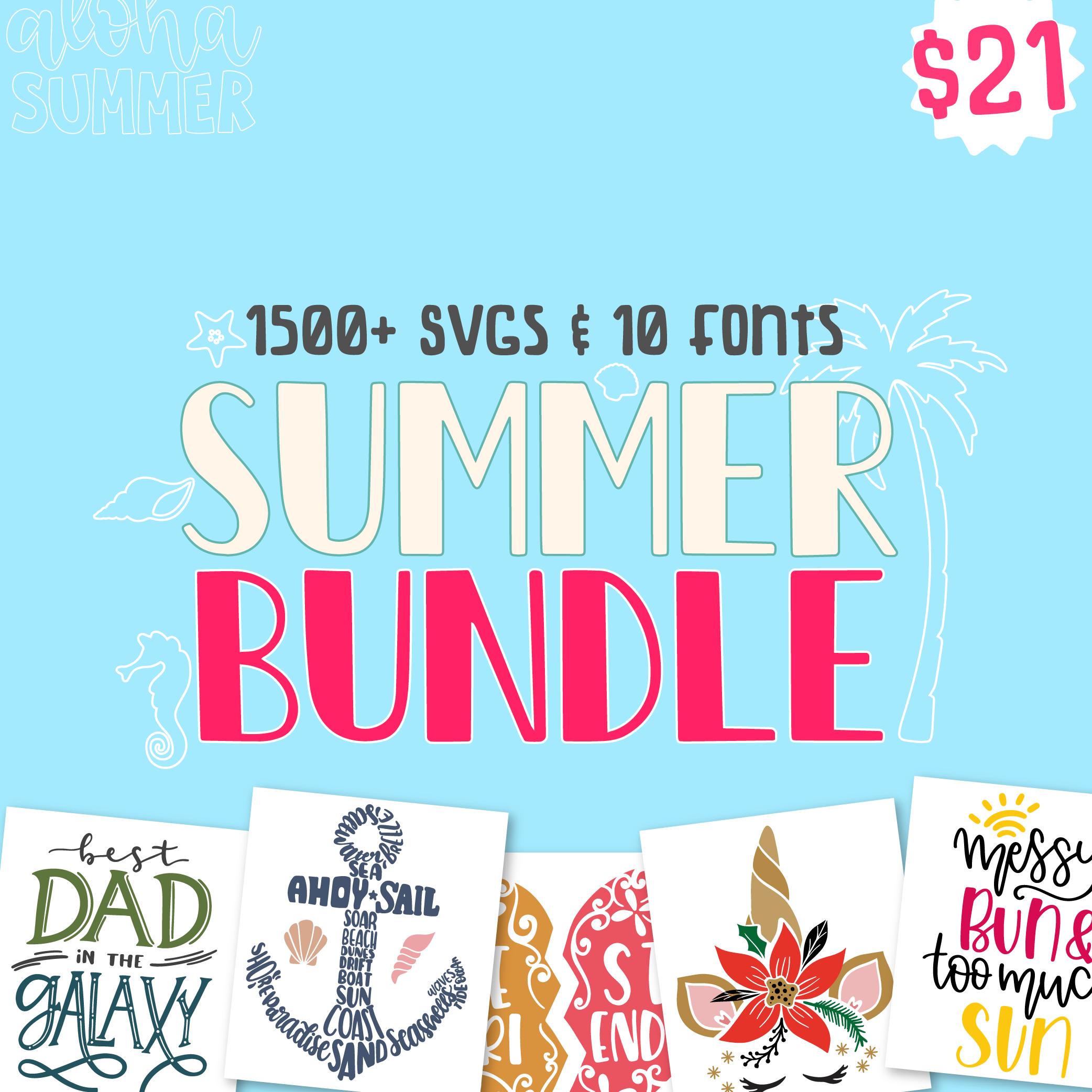 The Summer Bundle Lovesvg Com