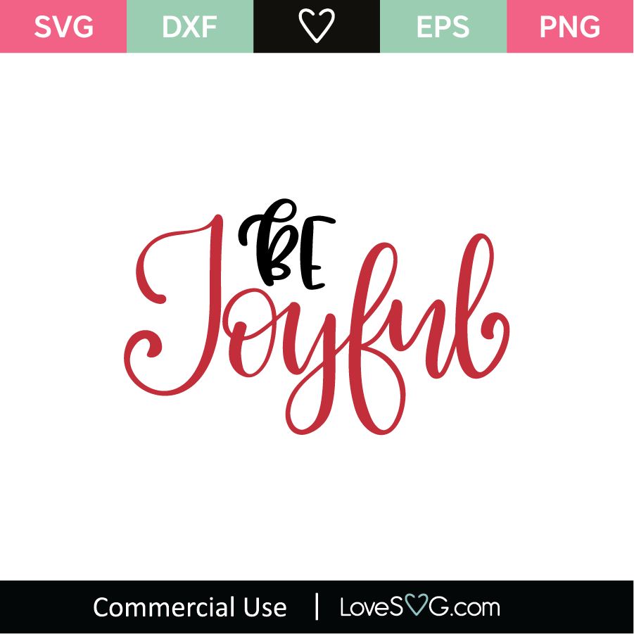 Get Joyful / Svg Png Dxf Crafter Files