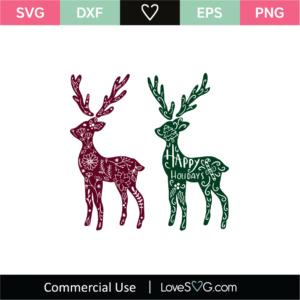 Reindeer Archives Lovesvg Com