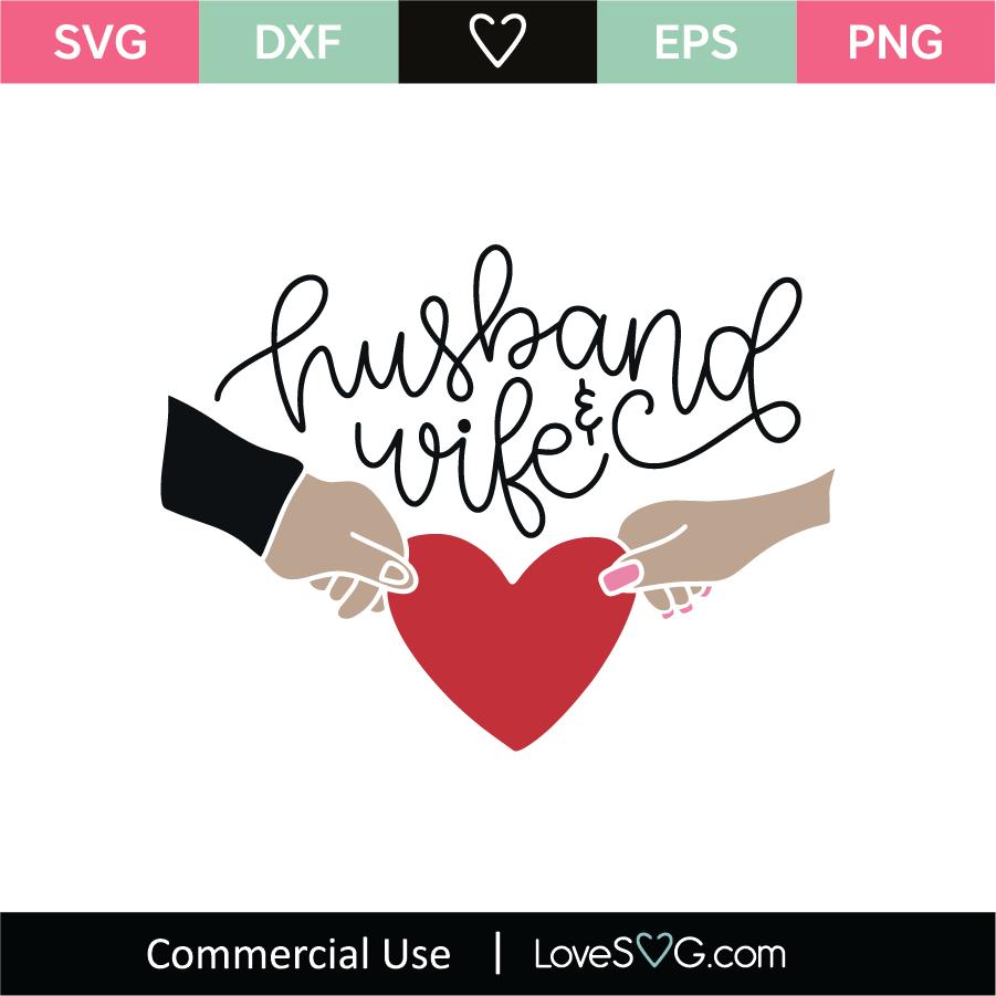 Download Husband and Wife SVG Cut File - Lovesvg.com