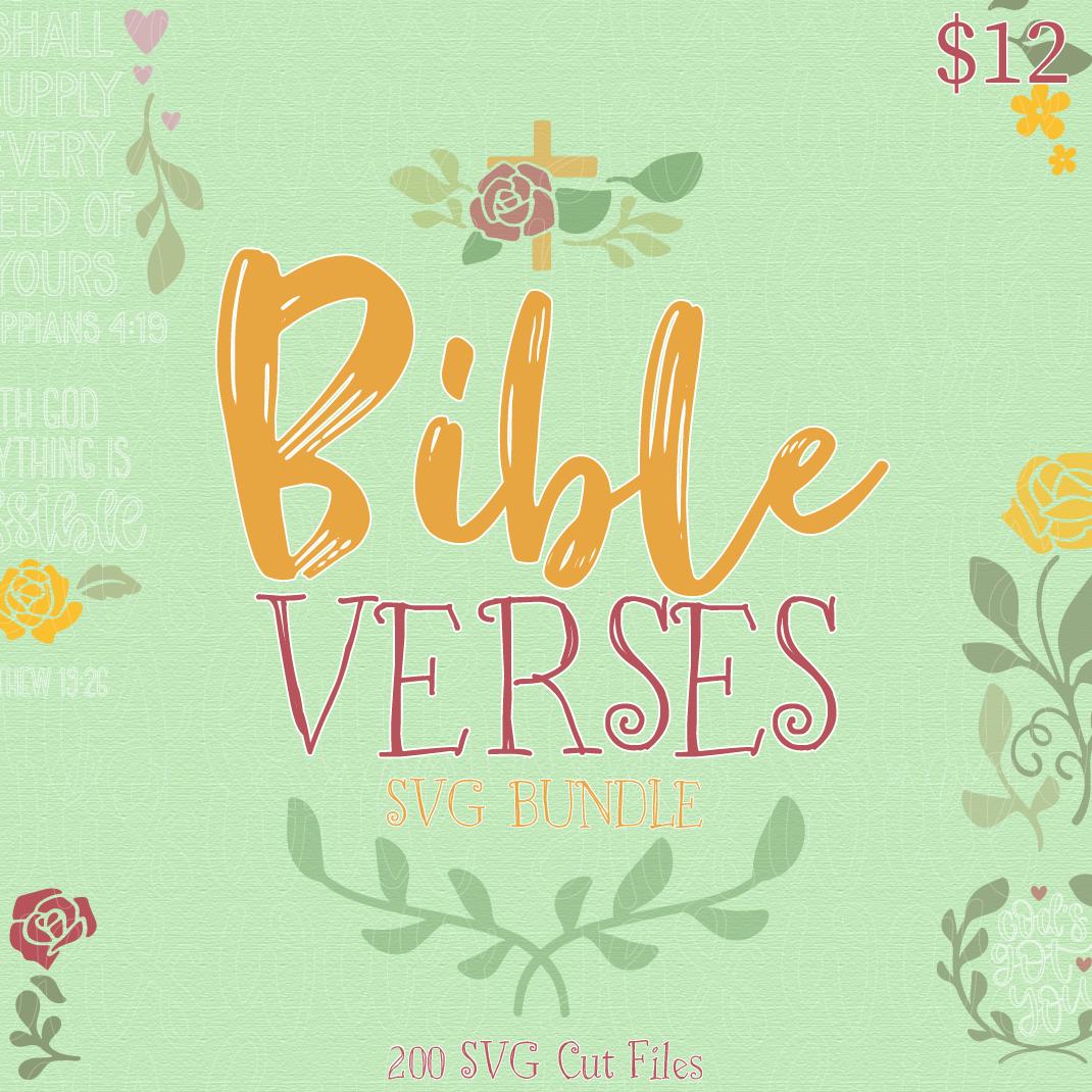 Bible Verses Svg Bundle Lovesvg Com