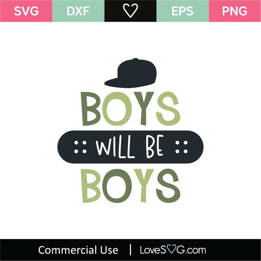 Download Boys Will Be Boys Design Instant Download Svg Png Dxf Clip Art Art Collectibles Delage Com Br