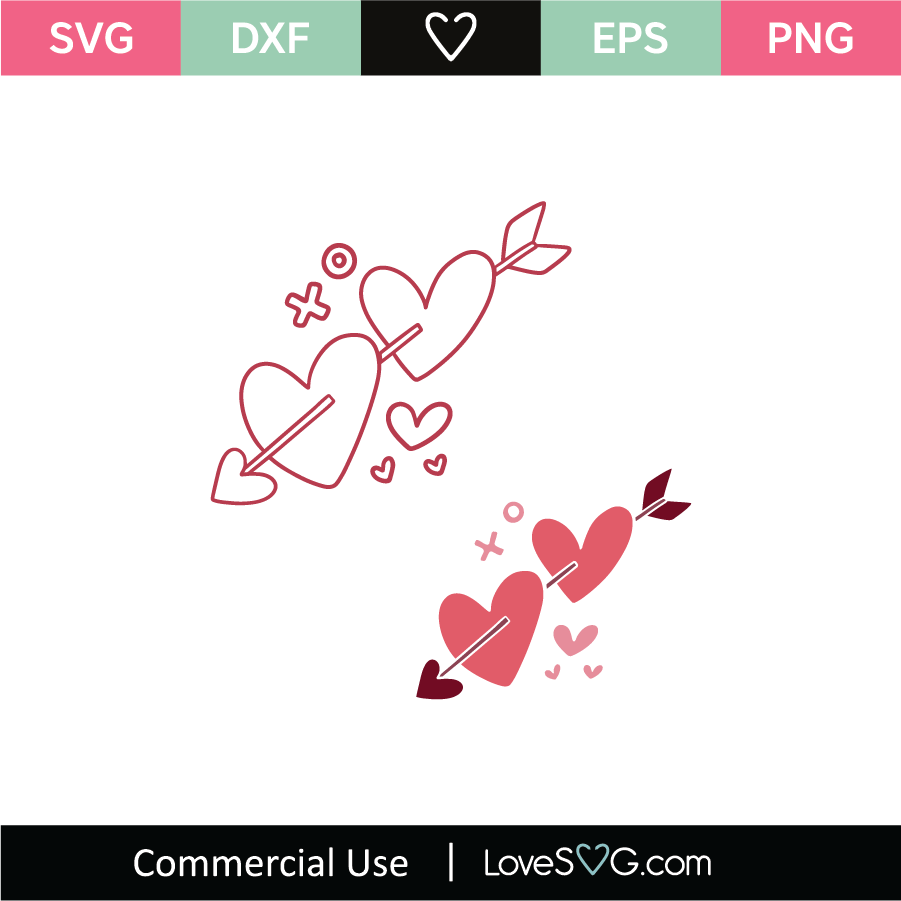Download Hearts 05 SVG Cut File - Lovesvg.com
